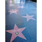 ロサンゼルス(カリフォルニア)  輝かしいセレブの名前と共に星が刻まれている、ハリウッド・ウォーク・オブ・フェイム(Hollywoid Walk of Fame)。  映画の聖地ハリウッドに来たら、やっぱりお気に入りの人たちの名前を見つけて、写真に収めてしまう。  #losangeles #hollywood #walkoffame #california