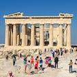 ギリシャ アクロポリスの丘 パルテノン神殿