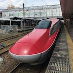 秋田新幹線こまちです  秋田駅にて撮影