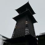天気悪いけど、小江戸 時の鐘
