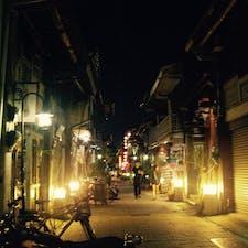 台南の街角