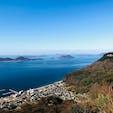 屋島山上から眺める瀬戸内海  #屋島 #瀬戸内海 #香川県