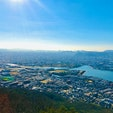 屋島山上から眺める高松市  #屋島 #高松市 #香川県