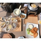 室津 津田宇水産 テレビを見て牡蠣食べに行きました。 生牡蠣が超絶美味しすぎる😋