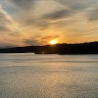 #狭山湖の夕景 #撮影スポット