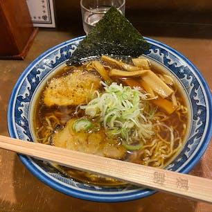 飛騨高山の麺屋しらかわラーメン🍜  麺のちぢれが美味しかった( ◠‿◠ )