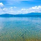 日本一深い湖、田沢湖のほとり  #田沢湖 #秋田県