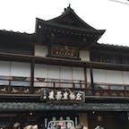 鶴喜そば 開店前から大勢の人が来られてました。