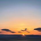 羅臼〜国後島からの日の出