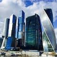 【🇷🇺Россия/Москва】 モスクワシティ モスクワにこのようなビルはなんだか似合わない と私は思う。