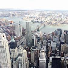 NY ワン ワールド トレードセンターからの景色🇺🇸