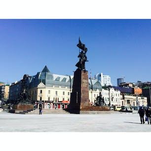 【🇷🇺Россия/Владивосток】 中央広場