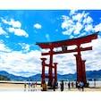 広島県廿日市市 宮島 厳島神社  最高のお天気でした☀️
