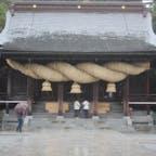 🌏福岡県福津市 📍宮地嶽神社  日本一大きいしめ縄は、本当に驚くほど大きかった!!