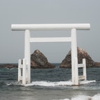 🌏福岡県糸島市 📍二見ヶ浦夫婦岩