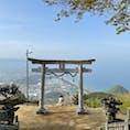 香川県高屋神社 天空の鳥居⛩