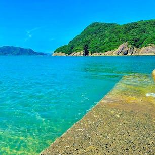 石波海岸から見る幸島  #石波海岸  #宮崎県 #幸島
