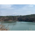精進湖 富士山が綺麗過ぎて寄り道 #202103 #s山梨