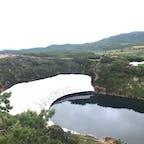 北海道 大雪山旭岳ロープウェイ ロープウェイで登ってハイキングできます。夏でも雪が残っていました。