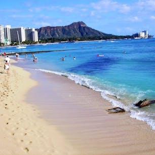 ワイキキビーチ ハワイの定番ですね🌊