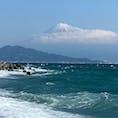 三保の松原から見た富士山🗻