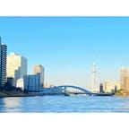 月島 東京スカイツリー 中央大橋