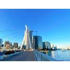 月島 中央大橋 東京スカイツリー