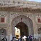 ジャイプル 旧市街の門