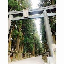 富士浅間神社 登山道のスタート地点でもある。 #202103 #s山梨
