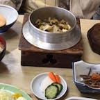 いすみ市の藤与しで食べたサザエの釜飯です。美味しかったです。 オススメですよ♪