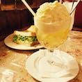 ゆりあぺむぺる/吉祥寺  クリームソーダ 卵とクリームチーズのサンドイッチ