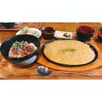 ネギトロ丼と長芋ステーキランチ   #静岡 #浜松 #こくりこ 津田店