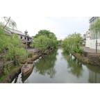【岡山県】 倉敷美観地区 あいにくの雨でした。