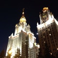 【🇷🇺Россия/Москва】 モスクワ大学 (МГУ) 大学時代、留学したところ。 このスターリン建築大好きです。 #スターリン建築