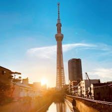 東京スカイツリー 十間橋