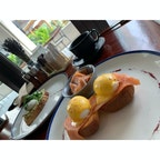 vida downtown  ホテルの朝食は玉子づくしでした🥚個人的にアボカドトーストが美味しかったですー