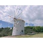 小豆島 オリーブ公園 風車