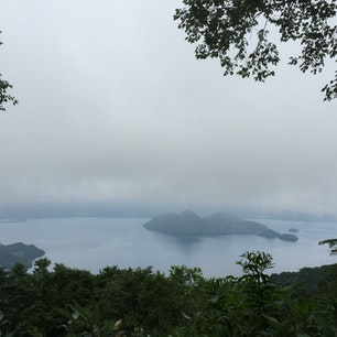 洞爺湖 晴れてる時に、また行きたいなぁ。