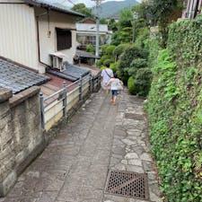 龍馬の道 亀山社中へ続く道