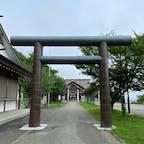 日本最北端の北門神社 日本最北端の神社『北門神社』ですね、 本来なら宗谷神社ですが、此処は無人の神社で、御朱印が貰えないので、矢張り最北端の神社は北門神社です。 #サント船長の写真 #全国神社仏閣巡り #何でも日本一