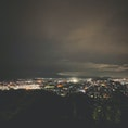 福井 村国山 夜景