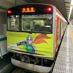 あおば通駅  仙石線マンガッタンライナーⅡに乗ります!