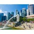シンガポール マーライオン マーライオン公園 マーライオンパーク