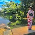 着物で歩くとモデル気分っ! 外国の観光客が📸向けてくる笑 季節で見え方が変わるみたい! #兼六園 #和服が似合う場所
