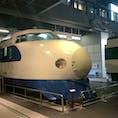 懐かしい新幹線も展示されてます。