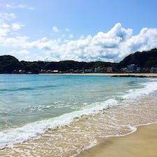 千葉県の守谷海水浴場に行きました