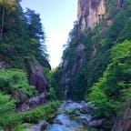 山梨 昇仙峡 #崖&川 歩いて登るから価値がある