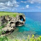 海の透明度が半端ではない 色のグラデーションが綺麗 #海 #沖縄 #透明度 #旅行の夢を叶えたい