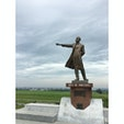 さっぽろ羊ヶ丘展望台 ウィリアム・スミス・クラーク博士の銅像(^^)