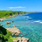 ムイガー断崖から見る七又海岸  #七又海岸 #宮古島